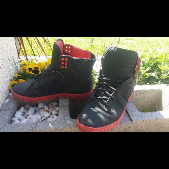 Supra Footwear Co. Muska 001. High top men s shoe.  M 5ab5530836b9de7b65b656a2 0f9a01cb9